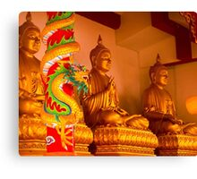 Buddha in Thailand Canvas Print
