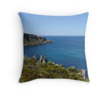 From a coastal lookout Throw Pillow