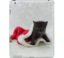 It is warm in Santa's Hat   iPad Case/Skin