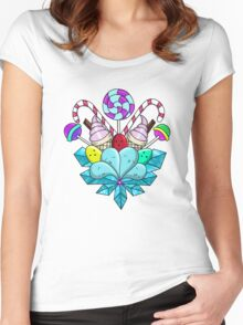 CANDYLAND!  Women's Fitted Scoop T-Shirt