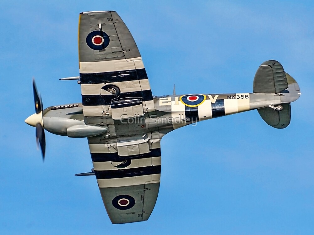 BBMF Spitfire LF.IXc MK356/21-V by Colin Smedley
