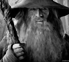 Gandalf From The Hobbit by IndoLovePaints
