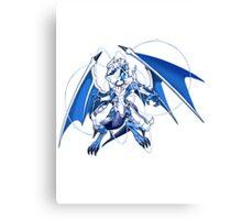 Lightpulsar Dragon Canvas Print