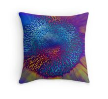 Solar Flux Throw Pillow
