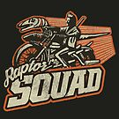 Raptor Squad by Messypandas