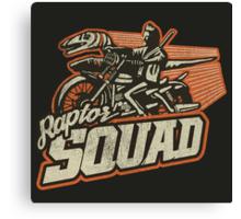 Raptor Squad Canvas Print