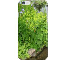 By The Water's Edge - Hyde Hall Lily Pond iPhone Case/Skin