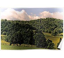Clouds & Pastures Poster