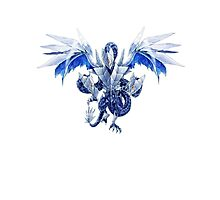 Trishula Dragon of the Ice Barrier Photographic Print