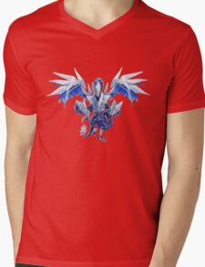 Trishula Dragon of the Ice Barrier Mens V-Neck T-Shirt