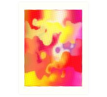 CANDY TILES 2 Art Print