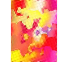 CANDY TILES 2 Photographic Print