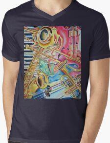 Instrumental Mens V-Neck T-Shirt