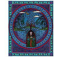 Fairwell fair lady of Challot Photographic Print