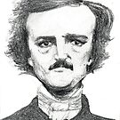 Edgar Allen Poe by Michelle Tabares
