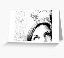 looking for answers Greeting Card