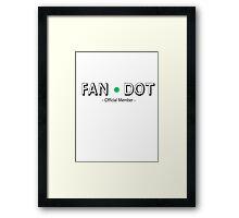 Cabin Pressure - Fan Dot Official Member Framed Print