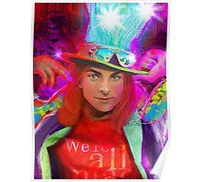 Diva Hatter Poster