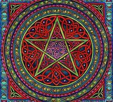 celtic pentagram by CherrieB