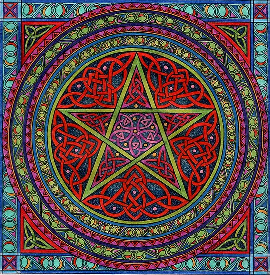 celtic pentagram by CherrieB