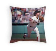 Dennis Eckersley Throw Pillow