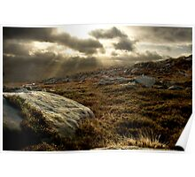 Owler Tor Winter Poster