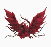Black Rose Dragon Shirt T-Shirt
