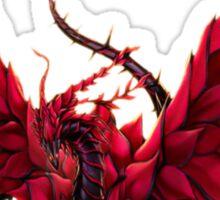 Black Rose Dragon Shirt Sticker