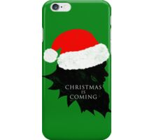Christmas is Coming iPhone Case/Skin