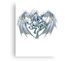 Stardust Dragon Shirt Canvas Print