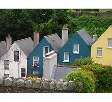 Row Houses, Cobh, Ireland Photographic Print