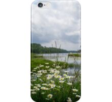 Wildflower Boundary Waters Landscape iPhone Case/Skin