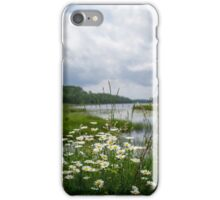 Wildflower Boundary Waters Landscape iPhone Case/Skin