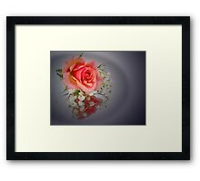 Rosy Glow Framed Print