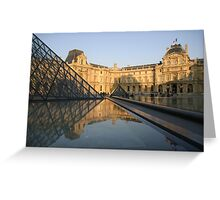 La Louvre Greeting Card