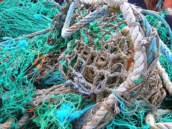 Fishing Nets Dingle, Ireland by Cathy Klima