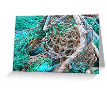 Fishing Nets Dingle, Ireland Greeting Card