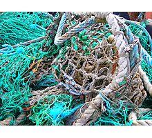 Fishing Nets Dingle, Ireland Photographic Print