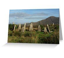 Ardgroom Stone Circle Greeting Card