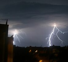 lightening strikes twice by Becci James