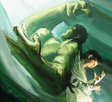 The Impressionable Hulk by Steven Stills