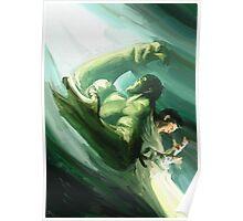 The Impressionable Hulk Poster
