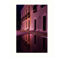 Old Reflections in San Juan Art Print