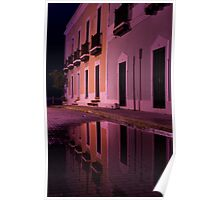 Old Reflections in San Juan Poster