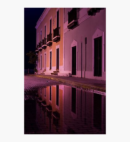 Old Reflections in San Juan Photographic Print