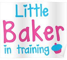 little baker in training Poster