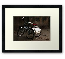 Tricycle Framed Print
