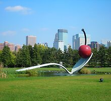 Spoon Bridge and Cherry, Minneapolis by Cathy Klima