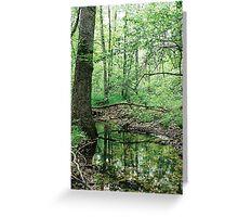 Elven Wood Greeting Card