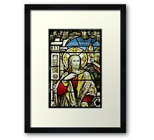 Christ in the house of Mary and Martha - Christ Framed Print